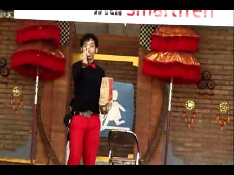 Stand Up Magic- Aan Hantara- Magician Bali at orphanage Bali