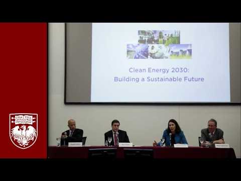"""""""Clean Energy 2030: Building a Sustainable Future"""" Panel Discussion"""
