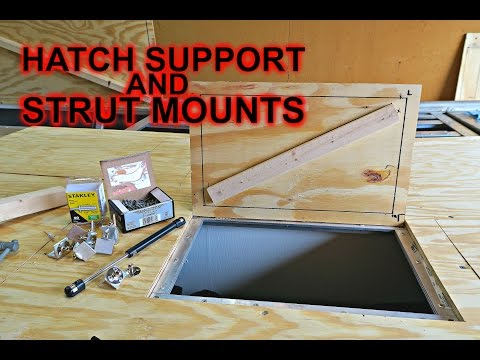 Hatch Support and Strut Mounts: Jon Boat to Bass Boat