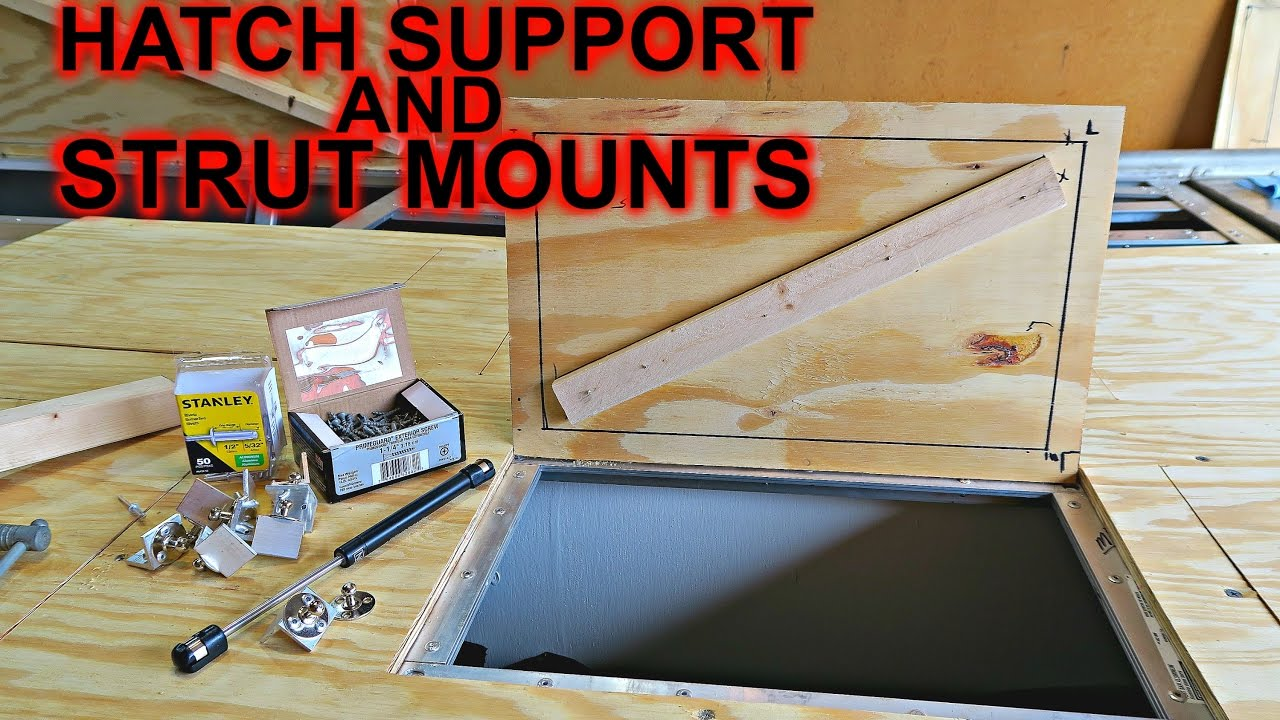 Hatch Support And Strut Mounts Jon Boat To Bass Boat