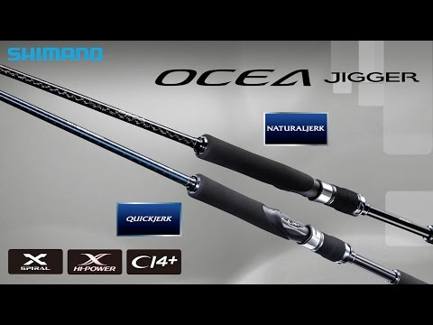 2016 Shimano New Jigging Rod [Ocea Jigger]