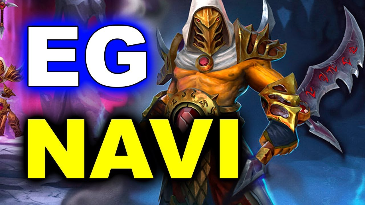 NAVI vs EG - WHAT A GAME! - ESL Genting 2018 Minor DOTA 2