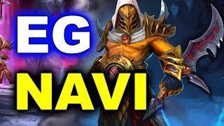 NAVI vs EG - WHAT A GAME! - ESL Genting 2018 Minor DOTA 2