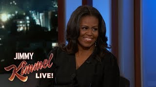 Baixar Jimmy Kimmel's FULL INTERVIEW with Michelle Obama