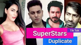 Tik Tok Musically Famous Bollywood Super Stars Duplicate