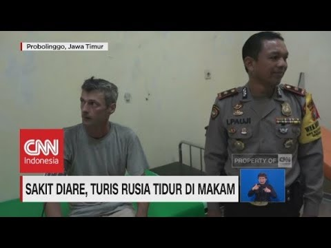 Sakit Diare, Turis Rusia Tidur di Makam