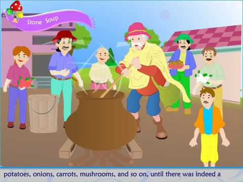 Stone Soup Story For Kids | SimTimTV
