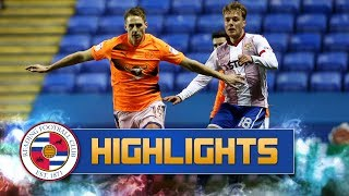 Highlights: Reading 3-0 Stevenage (Emirates FA Cup, third round replay), 16th January 2018