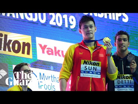 Mack Horton accused of 'disrespecting China' after protesting Sun Yang's win