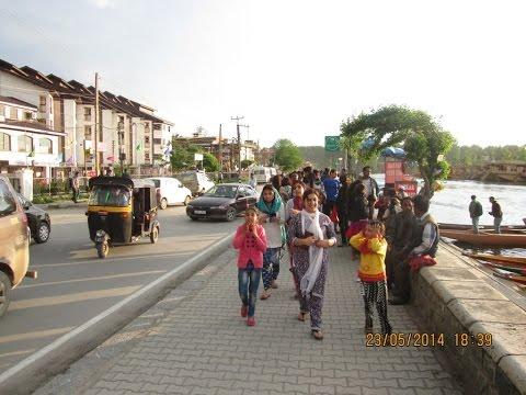 Boulevard Road, Dal Lake - Most Prestigious Road In Srinagar - Kashmir Tourism Video