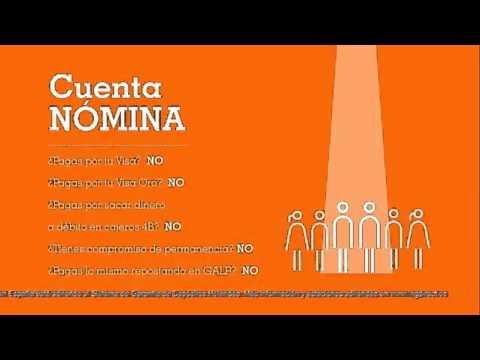 Cancion anuncio ING Direct Cuenta Nómina 2013