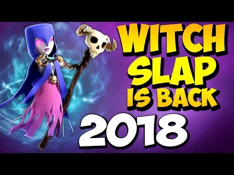 WITCH SLAP IS BACK!? TH9 SUPER STRONG WAR ATTACK STRATEGY 2018 | Clash of Clans