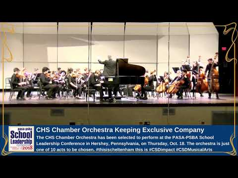 CHS CHAMBER ORCHESTRA KEEPING EXCLUSIVE COMPANY