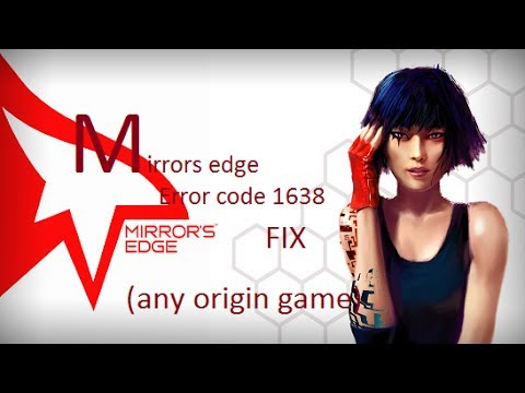 Origin error code 1638 game install fix
