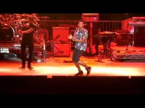 "Trevor Jackson ""Me Likey"" opening act for Zendaya live at LA County Fair"