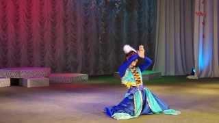 Монгольский танец. Исполняет Анна Цой