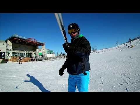 Snowboarding At Winsport COP - Calgary Alberta Canada - February 2019