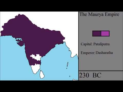 The Rise and Fall of the Maurya Empire: Every Year
