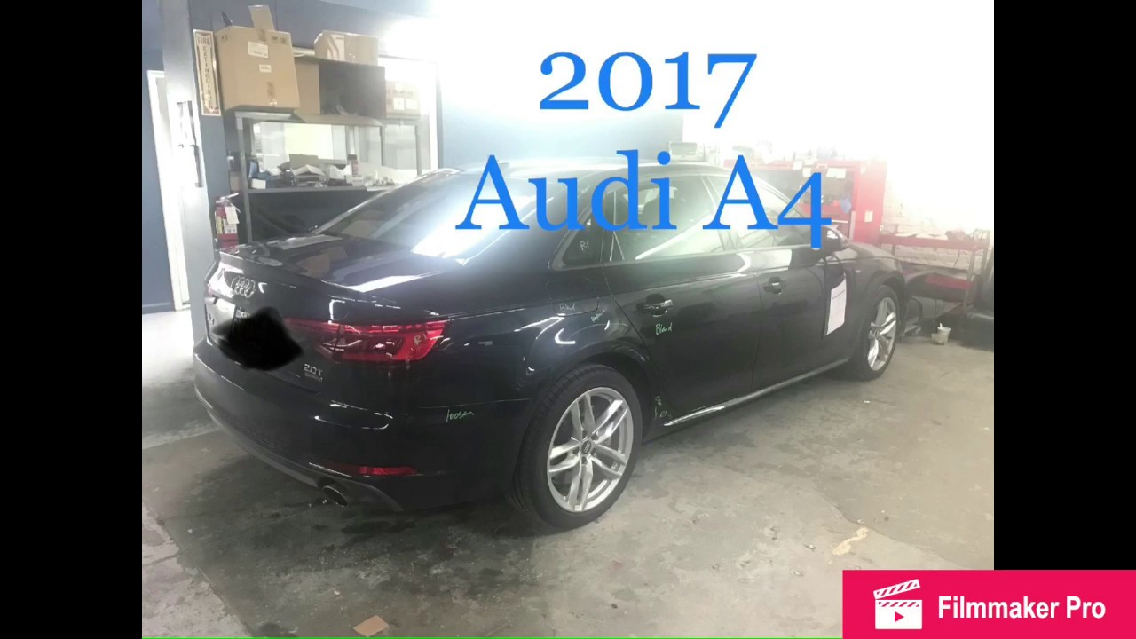 how to remove 2017 audi a4 tail light body shop basics [ 1280 x 720 Pixel ]