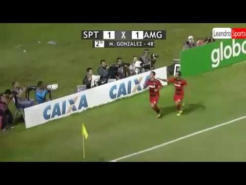 Sport 1 x 1 América mg | Melhores Momentos 03/08/2016 Brasileirão 2016