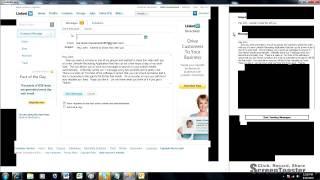 LinkedIn Recruiting Application