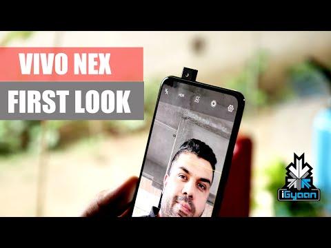 Vivo Nex : Pop Up Camera Phone : Quick Review