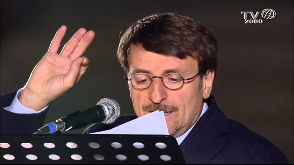 Giacomo Poretti durante il precedente evento in Piazza Duomo