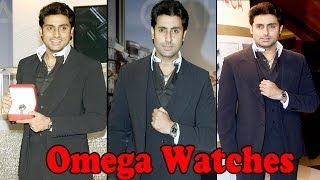 Abhishek Bachchan Launched Omega Watches