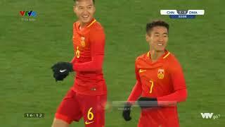 U23 Trung Quốc 3 - 0 U23 Oman VCK U23 Châu Á 2018