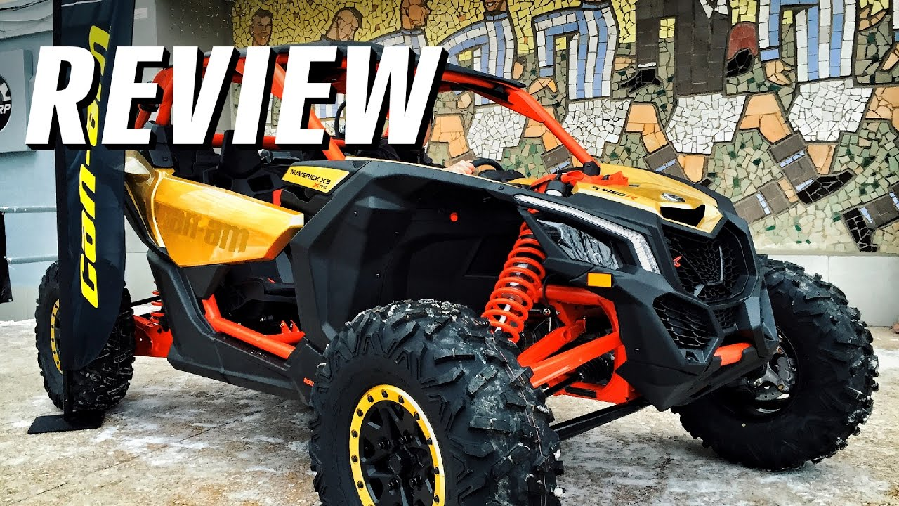 Обзор Brp Can Am Maverick X3 X Rs 2017 Review Atv Utv
