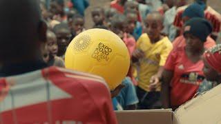Expo 2020 footballs arrive in Kenya