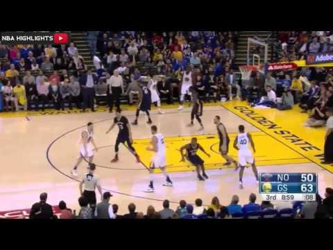Golden State Warriors vs New Orleans Pelicans   Full Game Highlights   March 14 2016