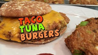 Taco Tuna Burgers Recipe (high Protein/fiber)