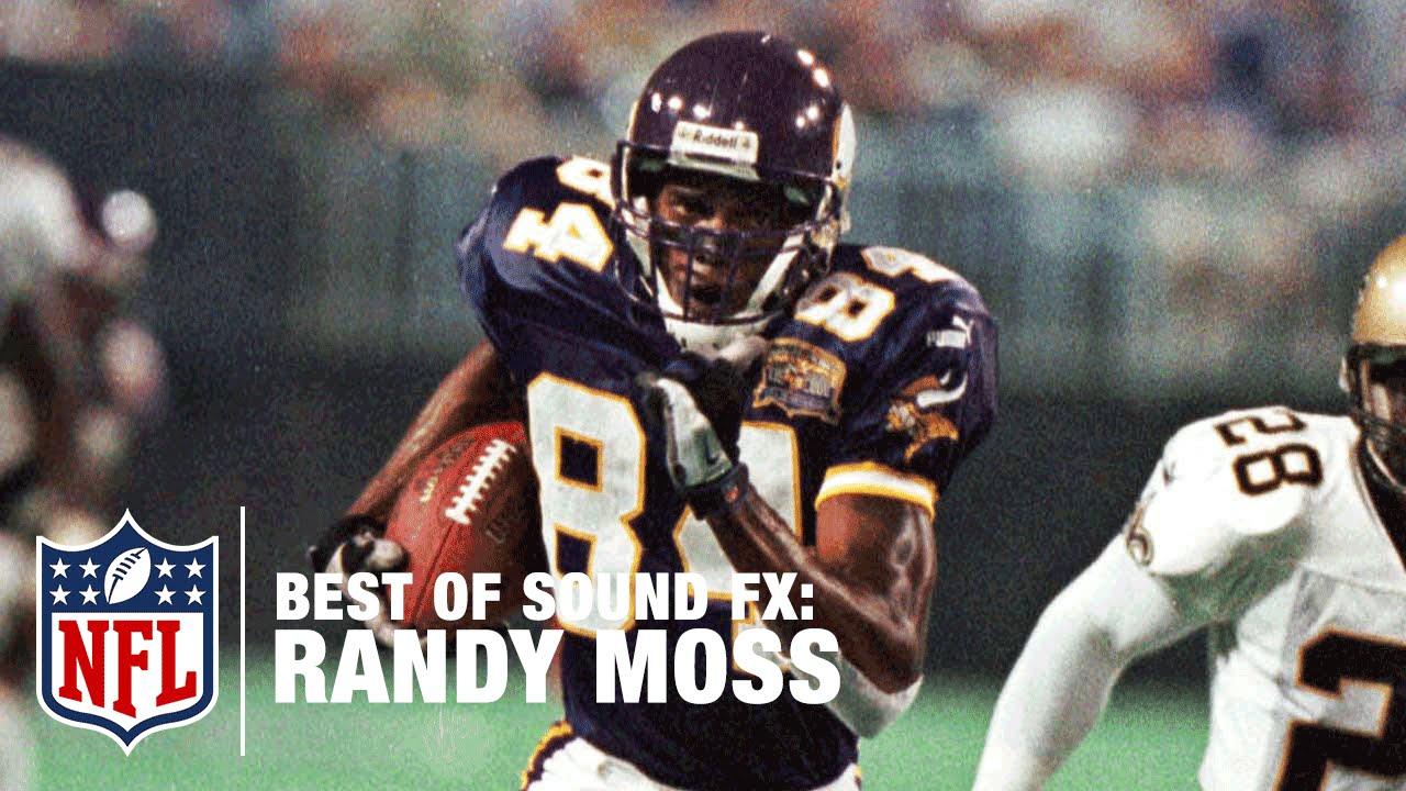 huge discount 55796 bbb96 Randy Moss & the Minnesota Vikings | Best of Sound FX | NFL