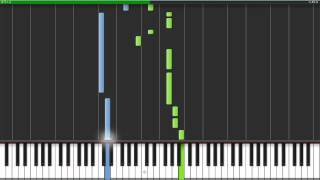 Call Me Maybe by Carly Rae Jepson - Synthesia Piano Tutorial + MIDI