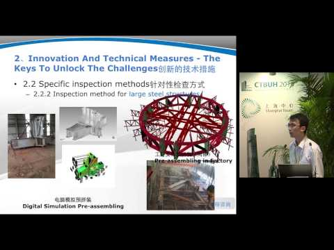 "CTBUH 2014 Shanghai Conference - Haochuan Lang, ""Innovation Management in the Supervision Process"""