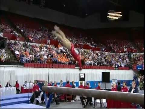 COURTNEY KUPETS - BEAM - 2009 - (GREATEST COLLEGIATE GYMNAST OF ALL TIME) - VOB