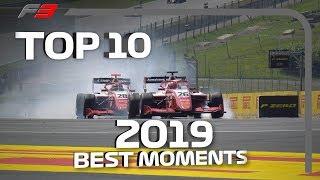 Top 10 F3 Moments | 2019 FIA Formula 3 Season