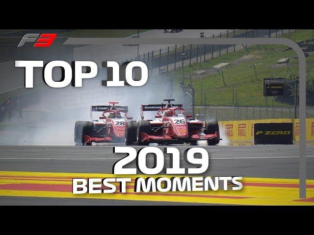 Top 10 F3 Moments   2019 FIA Formula 3 Season