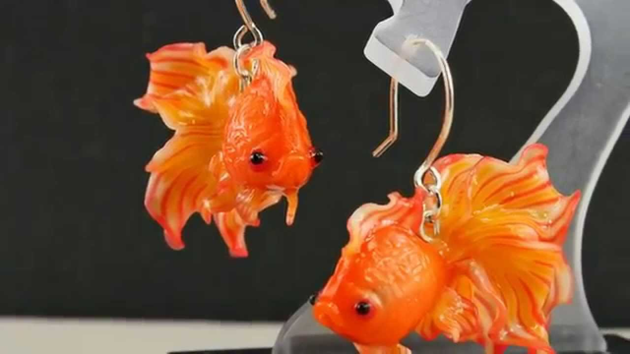 Polymer Clay Jewelry And Clay Goldfish