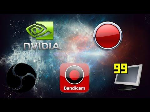 Лучшие программы для записи видео игр (подводим итоги)
