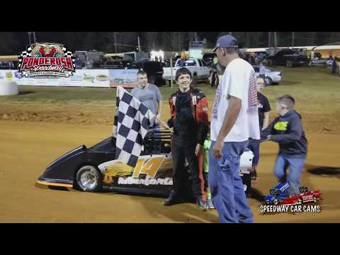 #14 Dylan Rutherford - Winner - Mini-Cup/Cyclones - 10-14-17 Ponderosa Speedway - In Car Camera