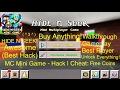 HIDE N SEEK MC Mini Game Hack Cheat Free Coins mp3