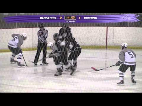 """Cushing Academy - Varsity """"B"""" Boys Ice Hockey vs. Berkshire School"""