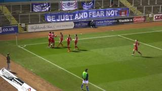 Carlisle United v Rochdale: FA Cup Second Round 2016-17: The Goals
