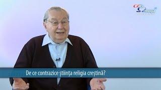 Exista o contradictie intre stiinta si crestinism?