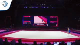Nicolo MOZZATO (ITA) - 2018 Artistic Gymnastics Europeans, junior floor silver medallist