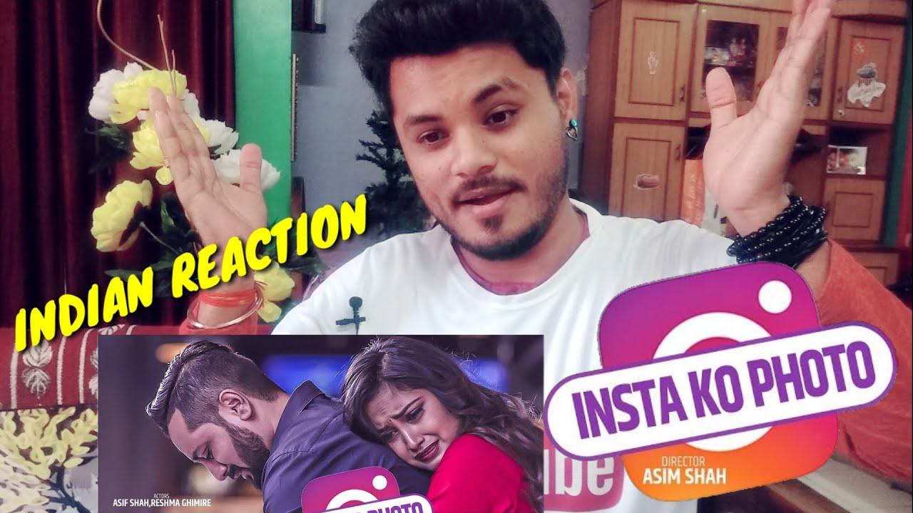 "Reaction On ""INSTA KO PHOTO"" New Nepali Song"