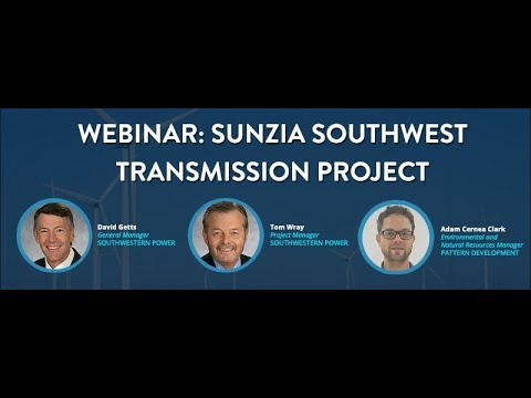 Webinar: SunZia Southwest Transmission Project
