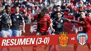 Resumen de RCD Mallorca vs CD Lugo (3-0)